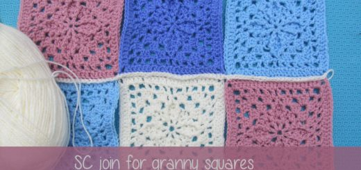 Single Crochet Join for Granny Squares | Sakeenah