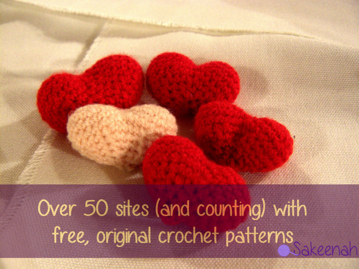 Over 50 Websites to Get Free Crochet Patterns - Sakeenah