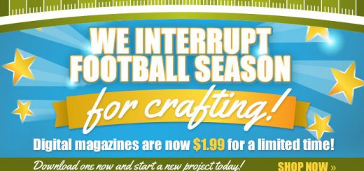 Crafting Digital Magazines only $1.99 through end of September! - Crochet, Knitting, Beading, Quilting, etc