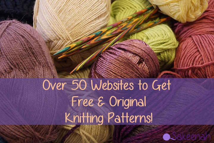 Over 50 Websites To Get Free Knitting Patterns Sakeenah
