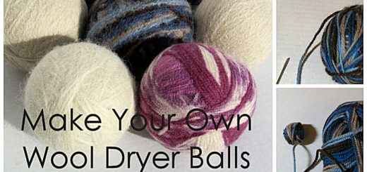 Green your laundry: Make your own wool dryer balls with this tutorial. Dryer balls reduce drying time, saving evergy and money. They are also a great natural fabric softener, perfect for sensitive skin!