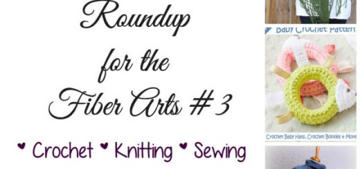 Weekly Pattern Roundup for the Fiber Arts 3 Free and Paid Crochet, Knitting and Sewing PatternsSakeenah.com