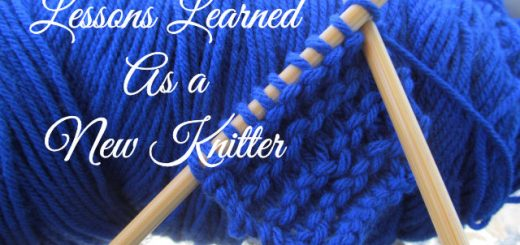 Lessons Learned As a New Knitter | Sakeenah.com